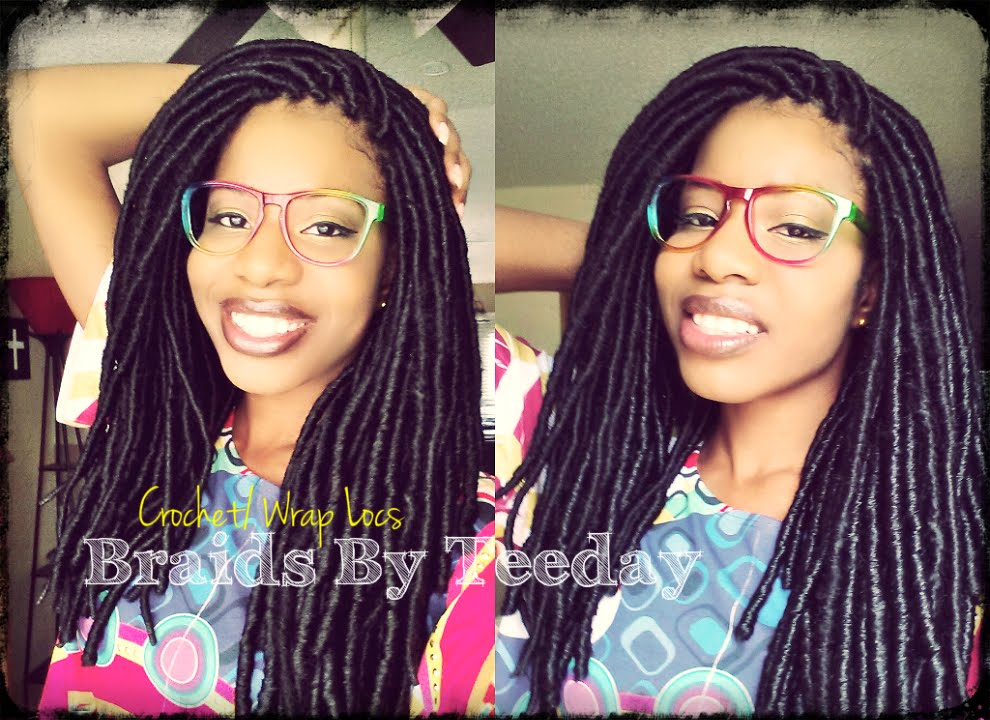 Crochet Braids Faux Locs : Crochet Braids? Shh...Dont Tell Nobody Else. ;-) TEEDAY6 - YouTube