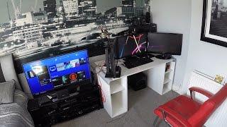 My Epic Gaming Room Tour Setup!!!...