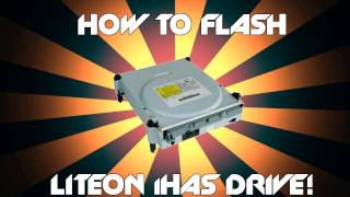 How to flash Liteon iHas drive to burn XGD3 | Tutorial for flashing B series iHas drives