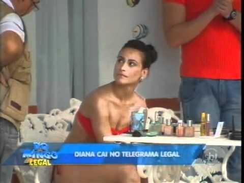 Domingo Legal - Diana e Kelly Key no Telegrama Legal