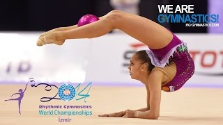 MAMUN Margarita (RUS) - 2014 Rhythmic Worlds, Izmir (TUR) - Qualifications Ball