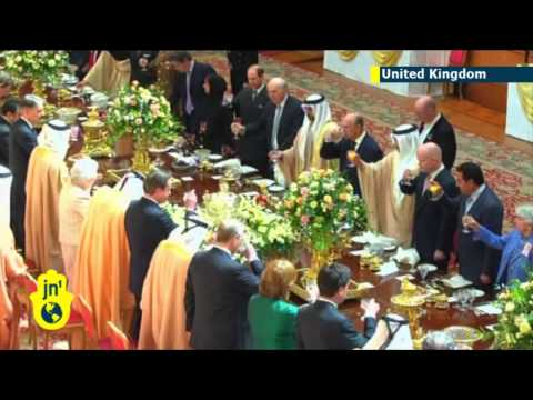 Sheikh Royal Reception: Queen Elizabeth II hosts UAE president