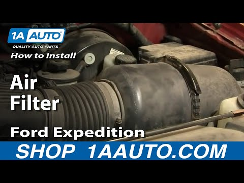 How To Install Replace Air Filter Ford F150 Expedition 97-03 1AAuto.com