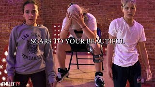 download lagu Alessiacara - Scars To Your Beautiful - Choreography By gratis