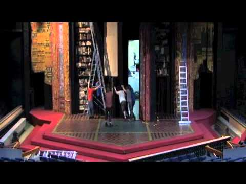 Turn-around (42nd Street set into Pygmalion)