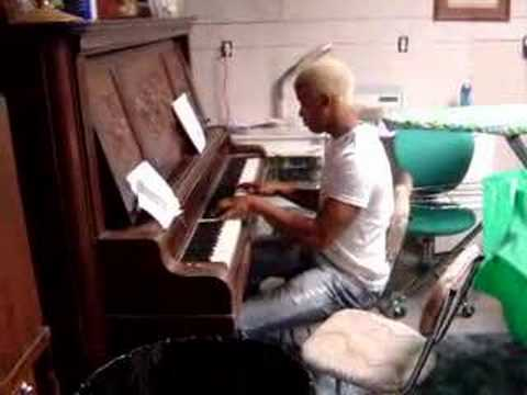 Leo Tickling the Ivories