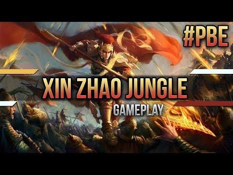 Xin Zhao Gamplay Update auf dem PBE [Lets Play] [League of Legends] [Deutsch / German]