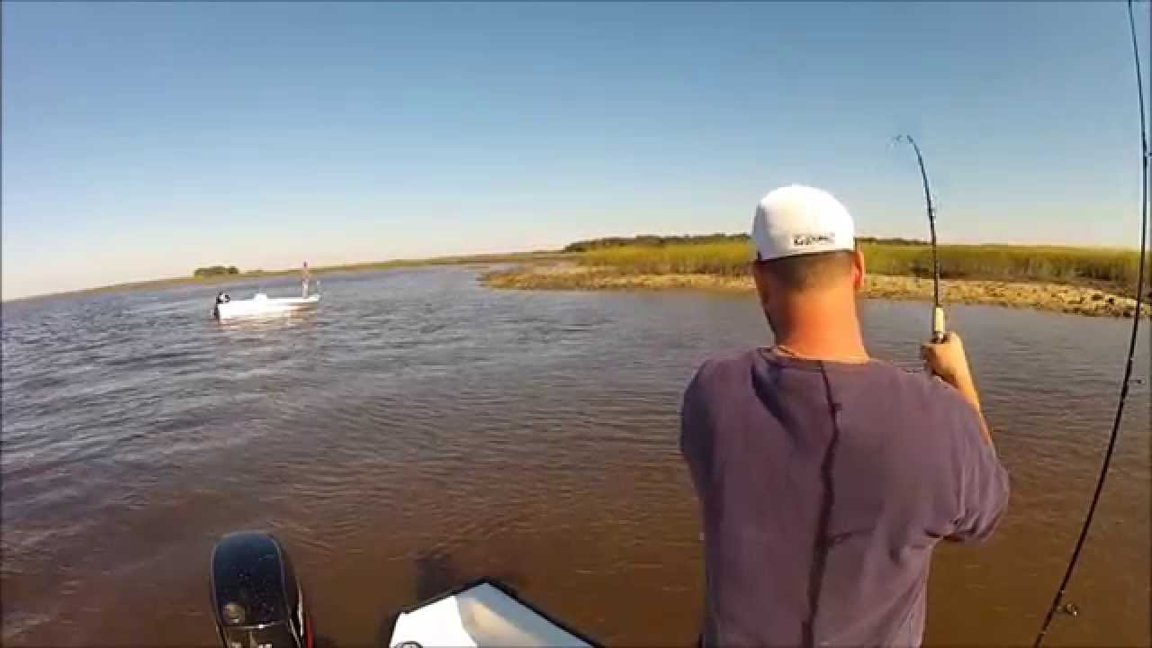 Flounder fishing in southeast ga youtube for Georgia out of state fishing license