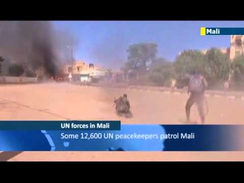 Mali UN Peacekeepers: UN troops take over following French-led anti-Islamist military intervention