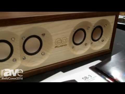 InfoComm 2016: GOaudio Explains Hardwood Executive Bluetooth Loud Speaker