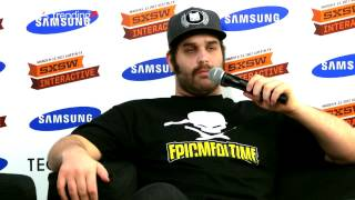 Harley Morenstein (Epic Meal Time) - SXSW 2012 Samsung Blogger Lounge