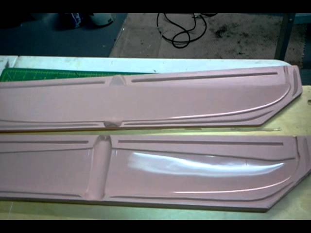 Casting the Micro Stinger: Silicone wing mold