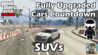 Fastest SUVs - Best Fully Upgraded Cars In GTA Online