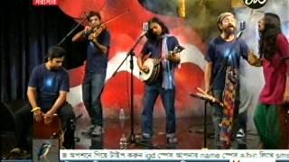 Joler Gaan Ft. Anusheh Anadil- Aayna (live @ Masraanga Tv)