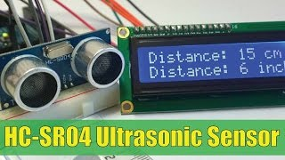 Ultrasonic Sensor HCSR04 and Arduino Tutorial