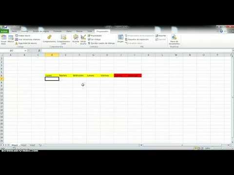 Como Crear una Macro en Excel con Codigo VBA