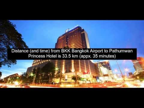 Bangkok Airport Transfer to Pathumwan Princess Hotel Bangkok
