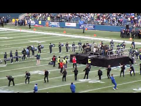 Army of Guitars - Seahawks Halftime show 01.07.2011