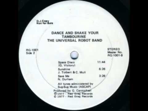 Universal Robot Band_Space Disco