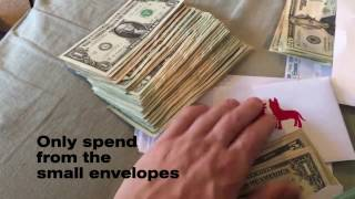 SAVE MONEY with ENVELOPE METHOD