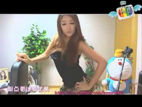 Webcam Sexy Asian Girl dances to Hyuna Bubble Pop