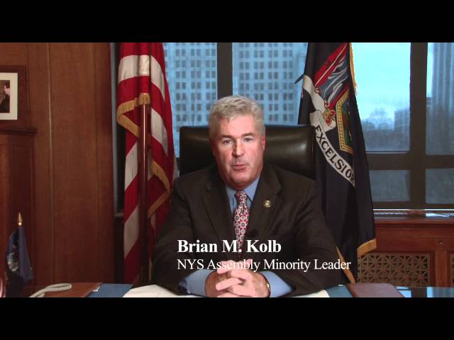 Greetings From Brian Kolb, NYS Assembly Minority Leader