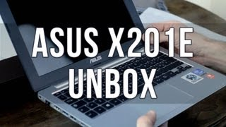 ASUS X201E (F201E) - Unbox e Primo Avvio
