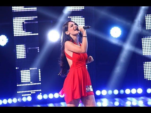 """Ed sheeran - """"Shape of you"""". Vezi interpretarea Francescăi Cancelieri, la X Factor!"""
