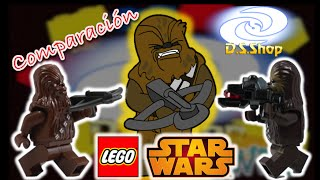 LEGO Star Wars Evolucion en la Minifigura de Chewbacca Review en Español Star Wars Mexico
