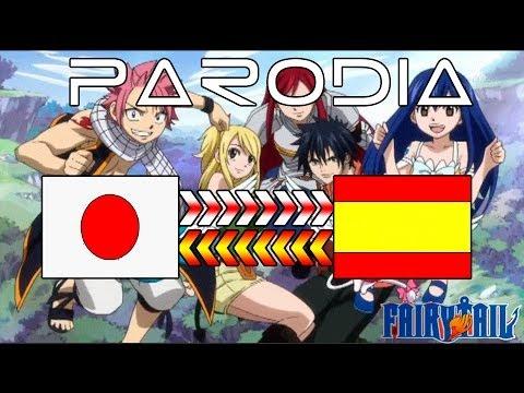 Fairy Tail - Parodia Opening 3 Traducción Al Español video