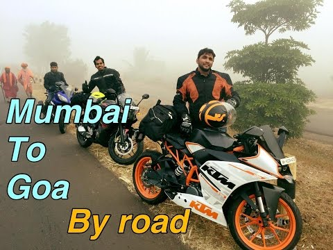 Mumbai To Goa | Pulsar Rs200, KTM RC/duke 390