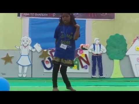 Dance On Main Barsane Ki Chori By Little Girl Of Udaaan video