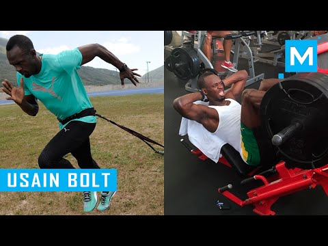 Usain Bolt Strength and Conditioning Training | Muscle Madness