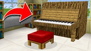 5 SECRET Things You Can Make in Minecraft! (Pocket Edition, PS4/3, Xbox, Switch, PC)