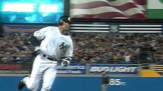 2001 ALDS Gm5: Justice's homer extends Yankees' lead