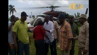 VIDEO: Haiti - Jovenel Moise en visite Dans La Commune De Les Irois