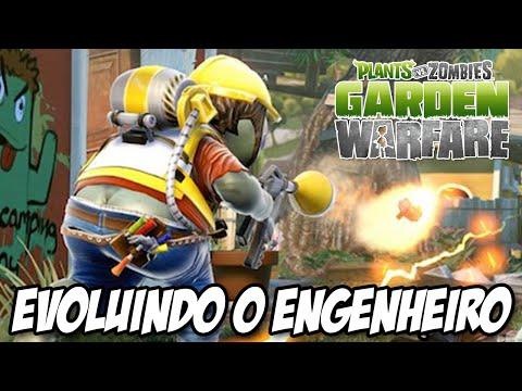 Plants vs Zombies Garden Warfare PS4 Evoluindo o Engenheiro rumo ao LVL 10