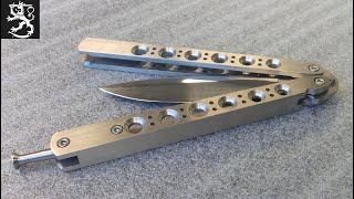 How to make a Balisong or Butterfly Knife