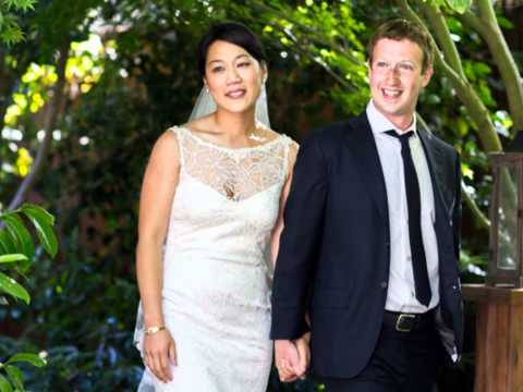 Facebook's Mark Zuckerberg marries sweetheart 5/19/2012