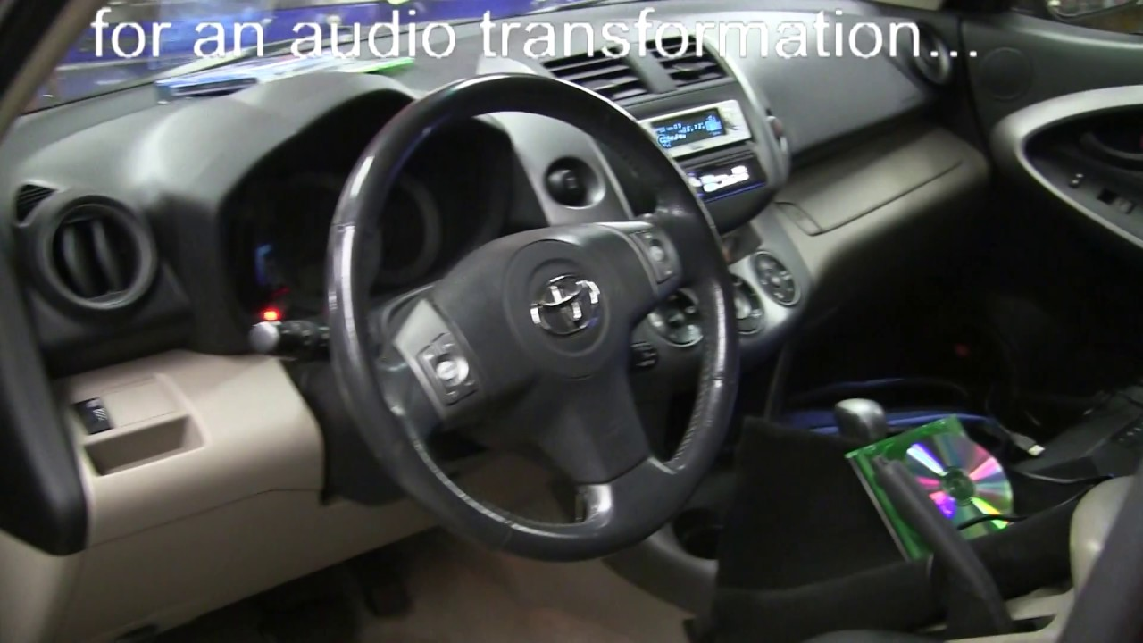 toyota rav4 gets stereo upgrade by cai in roseville california youtube. Black Bedroom Furniture Sets. Home Design Ideas