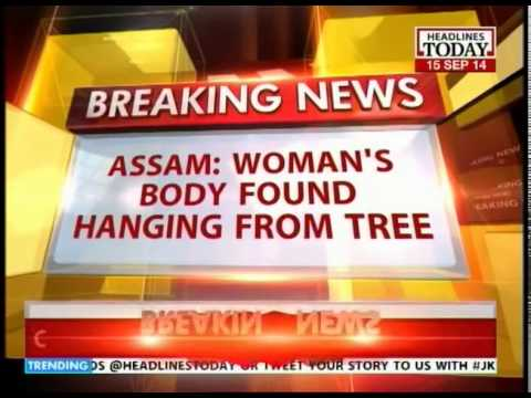 Woman's body found hanging from tree at Rangiya Town, Assam