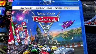 Cars 2 - Cars 2 blu-ray dvd unboxing review official movie Walt Disney Pixar Animation blucollection