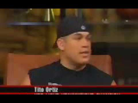 Ken Shamrock arguin with Tito Ortiz Video