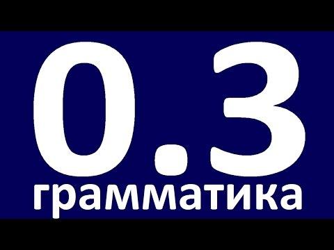 ГРАММАТИКА АНГЛИЙСКОГО ЯЗЫКА С НУЛЯ - УРОК 3  Английский язык. Уроки. Английский для начинающих