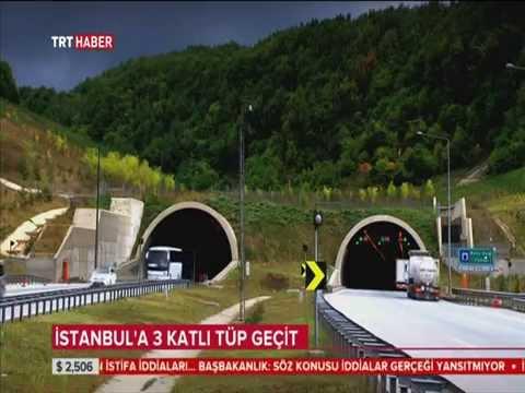 İstanbul'a Üç Katlı Tüp Geçit...