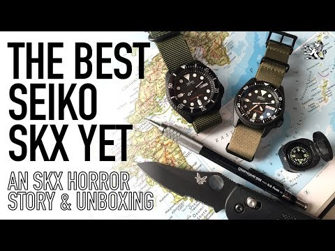 A Seiko Special - Selling My SKX007? - An SKX013 Horror Story + Unboxing My Best $500 Dive Watch Yet