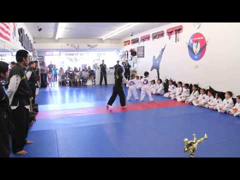 May 18, 2013  JK Tae Kwon Do - White Belt Test