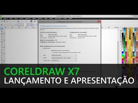CorelDRAW X7 - Lançamento e Apresentação
