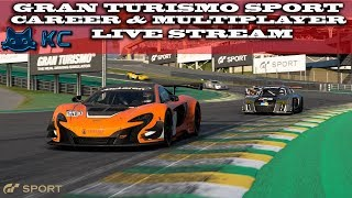 Gaming :Gran Turismo Sport (PS4) 🚗 Career & Online Multiplayer (Live Stream🔴 12/10/2018)