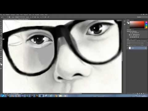 Chen (김종대 - Kim Jong Dae) EXO (엑소) - Digital Speed Paint by FindTheEXOrado